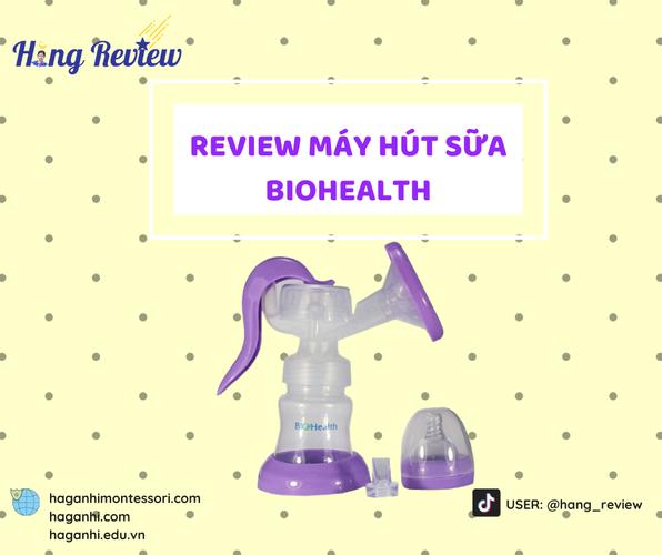 REVIEW MÁY HÚT SỮA BIOHEALTH