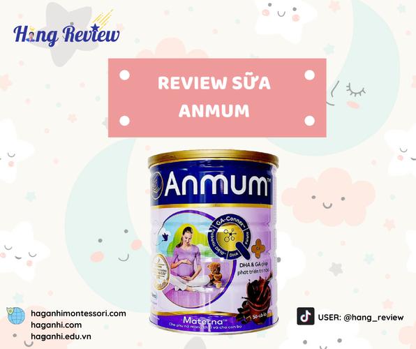 REVIEW SỮA BẦU ANMUM